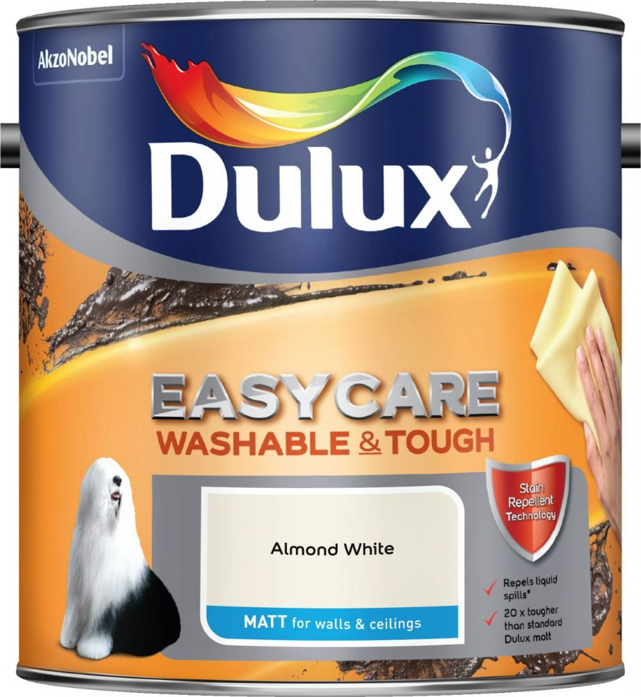 Dulux Easycare Washable and Tough Matt Colours 2.5L